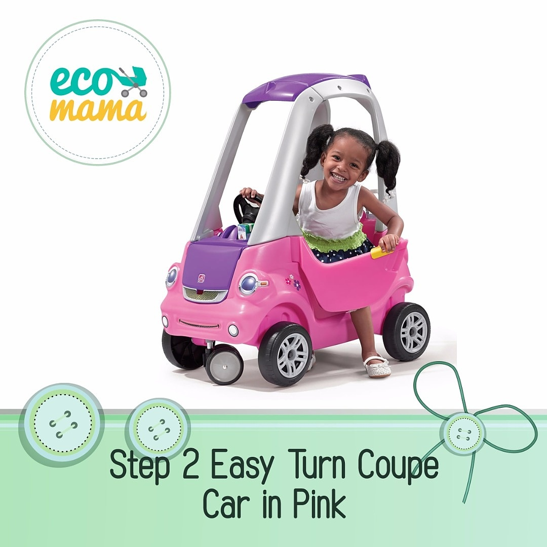 Step2 Easy Turn Coupe Car Pink