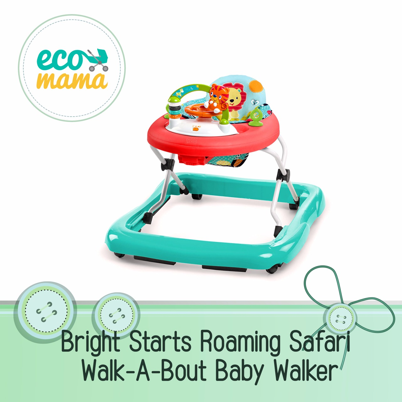 Bright Starts Roaming Safari Walker