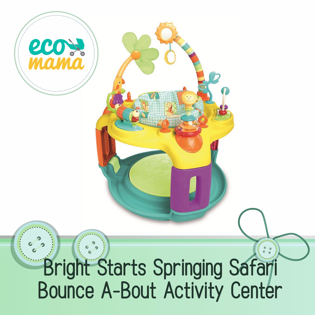 Bright Starts Springin' Safari Bounce-A-Bout