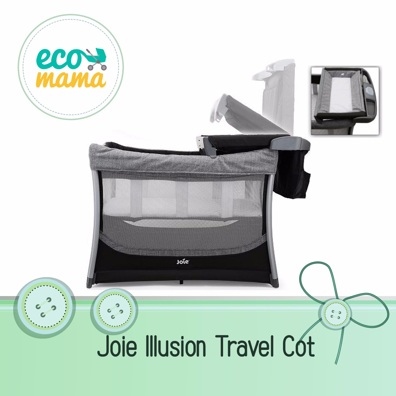 Joie Illusion Travel Cot