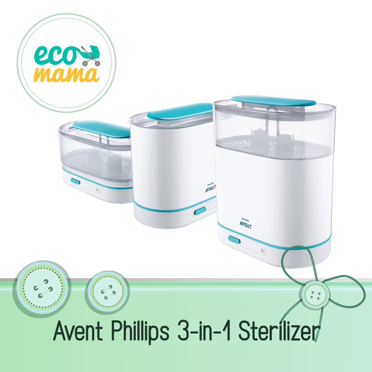 Avent Philips 3 in 1 Electric Steam Sterilizer